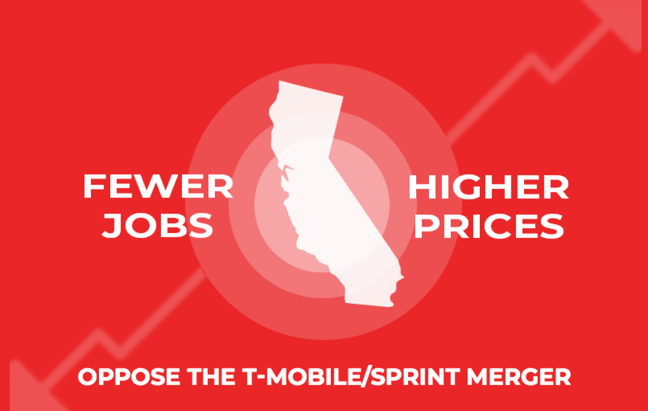 Oppose the T-Mobile/Sprint Merger