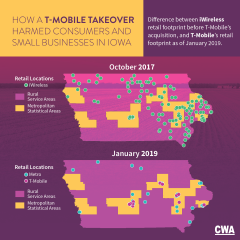 iWireless Retail Footprint Change After T-Mobile Takeover